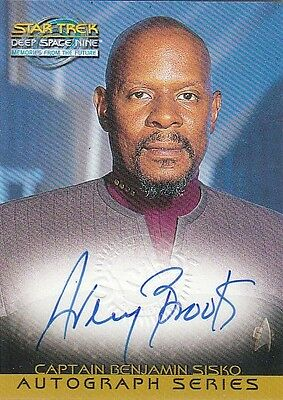 Star Trek DS9 MFTF Memories: A18 Avery Brooks - Captain Ben Sisko Autograph Card