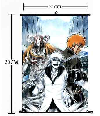 HOT Japan Anime Bleach Wall Poster Scroll Home Decor Cosplay 516