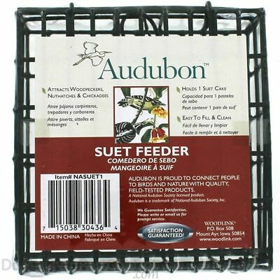 Audubon/Woodlink Hanging Single Suet Cage NASUET1