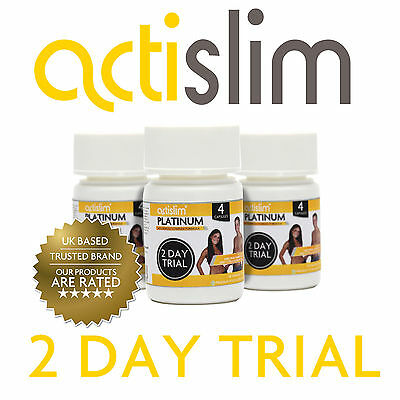 ACTISLIM Platinum 2 Day Trial - Slimming Pill Contains Garcinia Cambogia