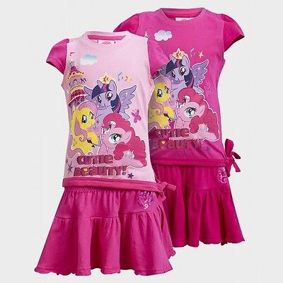 My Little Pony Girls 2-piece Set. Very cute girls character clothing