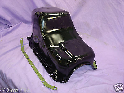 Mercruiser Marine Oil Pan 4.3L V6 175 185 205 PN: 14088517 with Spreader Rails