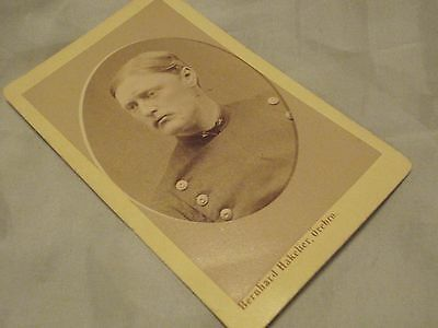 Swedish Antique WW1 Picture photo artillery  officer Stockholm   Sweden