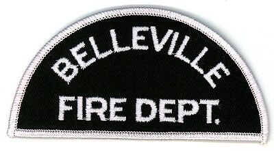 Vintage Belleville Fire Department Uniform Patch Ontario ON Canada - Small