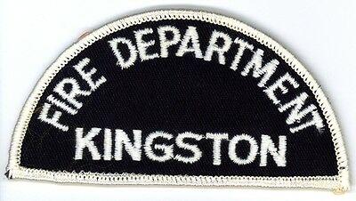 Vintage Kingston Fire Department Uniform Patch Ontario ON Canada