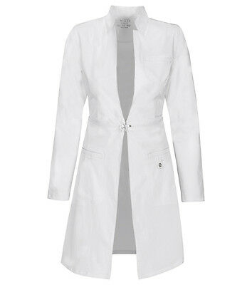 "Cherokee 32"" Lab Coat 1404 WHTV White Free Shipping"