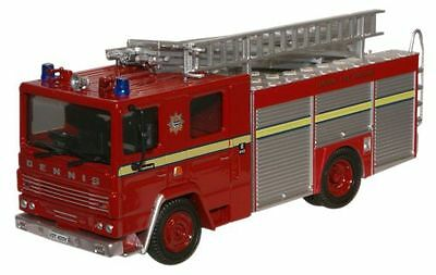 Oxford Diecast 1:76 OO 76DN001 Dennis RS Fire Engine London FB