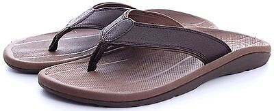 Comforthotics® Men's Pat Comfort Summer Flip Flop Sandal Orthotic Arch Support