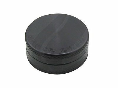 NEW SPACE CASE Grinder Magnetic 2 Pc. Small Titanium FREE SHIPPING