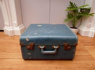 SQUARE  Vintage RETRO Suitcase  TRAVEL or DISPLAY Adelaide