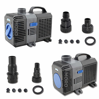5000/10000/16000LPH Submersible Water Pump Aqua Pond Pool Fish Tank Fountain Air