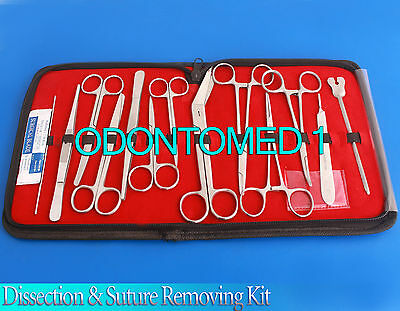 Dissection & Suture Removing Kit, Surgical Minor Surgery Kit