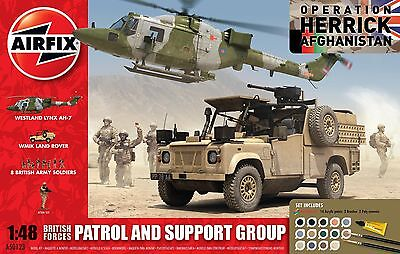 AF50123     1/48 AIRFIX British Forces - Patrol and Support Group