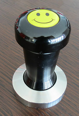 COFFEE TAMPERS..58mm, 57mm,.BARISTA QUALITY..HEAVY.. COFFEE MACHINE.SMILEY FACE.