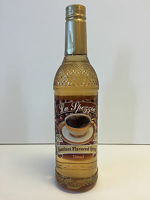 La Spezzia Hazelnut Flavoring Syrup (1 bottle/750 ml)
