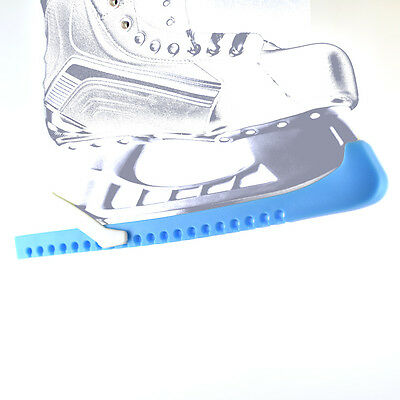 Skate Guards, Blade Guards for Hockey and Figure Skates, LIGHT BLUE