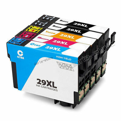 5 Ink Cartridges For Epson Expression Home XP-235 XP-332 XP-335 XP-432 XP-435