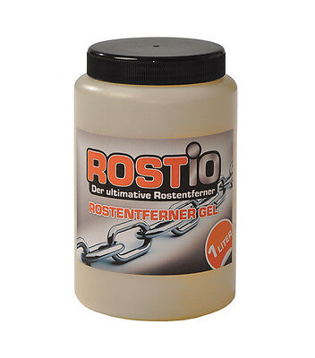 Rostio Rust Remover Gel Rust Converter Remove Rust Removal