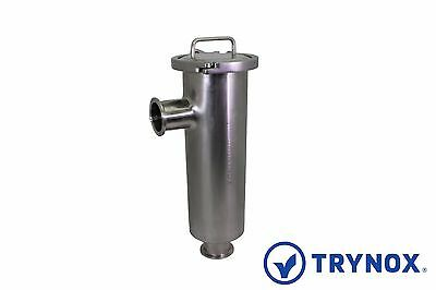 Tri Clamp Sanitary Stainless Steel 304 2'' Strainer Filter L-Type Trynox