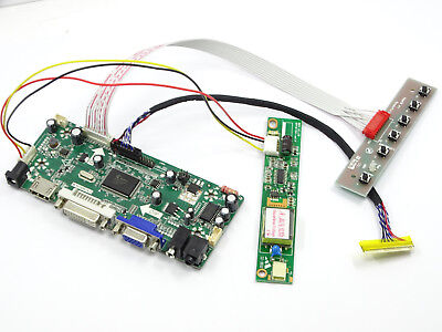 New LCD Controller Board lvds Kit For LP156WH1(TL)(A3) HDMI + DVI + VGA