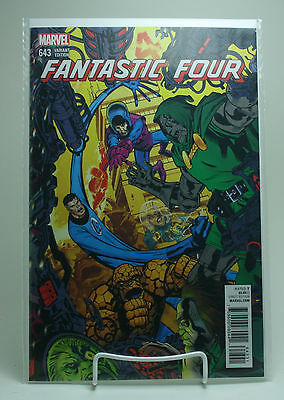 Fantastic Four #643! Michael Golden Connecting Variant! Unread! Marvel! HOT!
