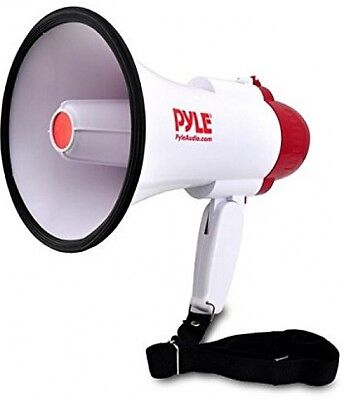 Small Compact Professional Megaphone Bullhorn Siren 30 Watts Training Horn NEW