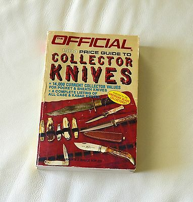 The Official 1984 Price Guide To Collector Knives