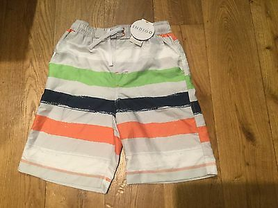 M&S Stripe Design  SWIM TRUNKS SHORTS AGE 9-10  YEARS   BRAND NEW