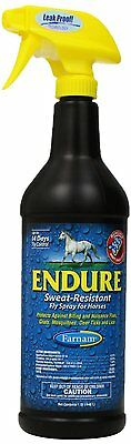 FARNAM 3002431 Endure Fly Spray, 32-Ounce