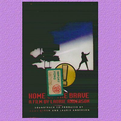 """O.s.t.  """" Home Of The Brave (Laurie Anderson) """" Musicassetta Sigillata Warner"""
