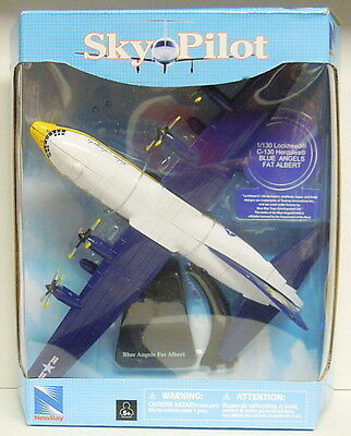 "C-130 Hercules ""Blue Angel"" Fat Albert ,New Ray , Approx.1:38/130, Finshed model"