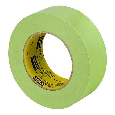"3M 26340 Scotch 2"" Performance Masking Tape 233+ 48 mm Green 12 Rolls Case Pack"