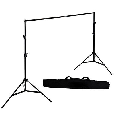 10'' Adjustable Photography Background Support Stand Photo Backdrop Crossbar Kit