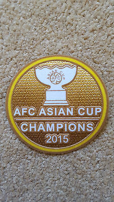 2015 Australia AFC ASIAN CUP CHAMPIONS Football Soccer Badge Patch