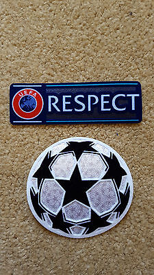 European Championship League Patch+Respect Patch 2 pieces / lot
