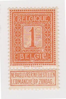 (GC-48) 1912 Belgium 1c orange SG133 (A) MH