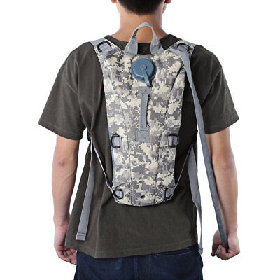 Military Bottle Pouch Tactical Hydration Backpack Water Bag Camping Camelback 3L