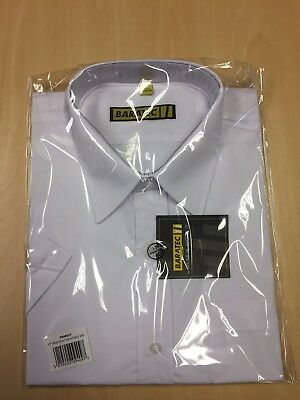 BRAND NEW With Tags White Short Sleeve Classic Shirt