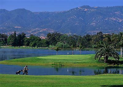 Art print POSTER / CANVAS Hope Ranch Golf Course