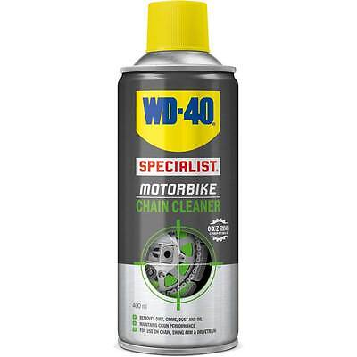 Motorcycle WD40 Specialist Motorbike Chain Cleaner 400ml Clear UK Seller