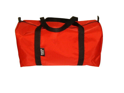 First Aid Kit emergency response Trauma Bag,water resistant,Red Made in U.S.A