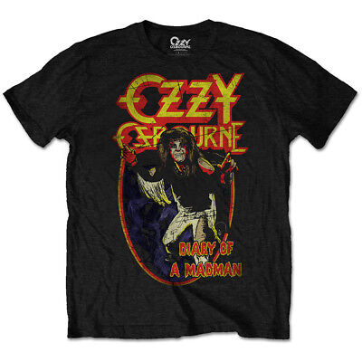 Ozzy Osbourne 'Diary Of A Mad Man' T-Shirt  - NEW & OFFICIAL!