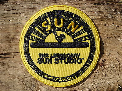 ECUSSON PATCH aufnaher toppa THERMOCOLLANT SUN RECORDS presley perkins cash
