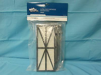 Dolphin Ultra Fine Cartridge Panel, Set of 4, by Maytronics part # 9991422-R4