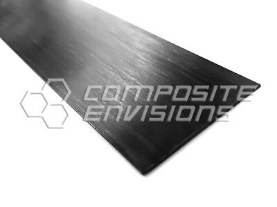 Carbon Fiber Pultruded Strip 1.4mm x 50mm x 1.2m