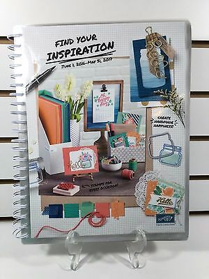 Stampin' Up! LAMINATED AND BOUND 2016-17 Catalog