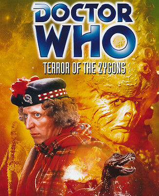 Doctor Who poster photo - 250 - Tom Baker - Terror of the Zygons