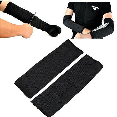 Metal Mesh Butcher Anti-Cutting Breathable Work Arm Guard Bracers Safe Protector