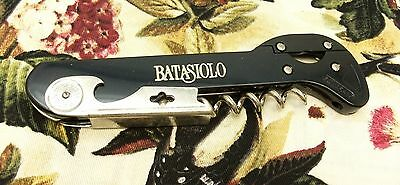Unique wine bottle opener corkscrew professional BATASIOLO Alepat & Taylor EUC