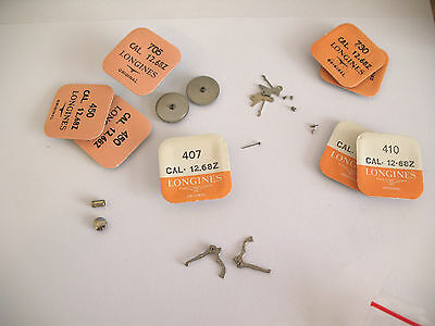 Longines 12.68Z Assorted Watch Movement Parts